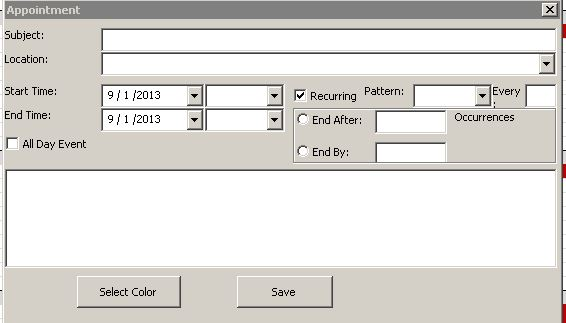 database for scheduling Easyappointments is an open source web appointment scheduling system it is free even for commercial use let's start with easy easyappointments  create a new database (or use an existing one) copy the easyappointments source folder on your server.